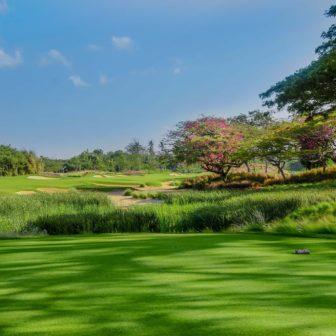 バリナショナルゴルフクラブの景色