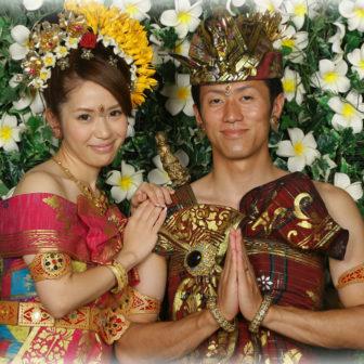 バリ島民族衣装体験3