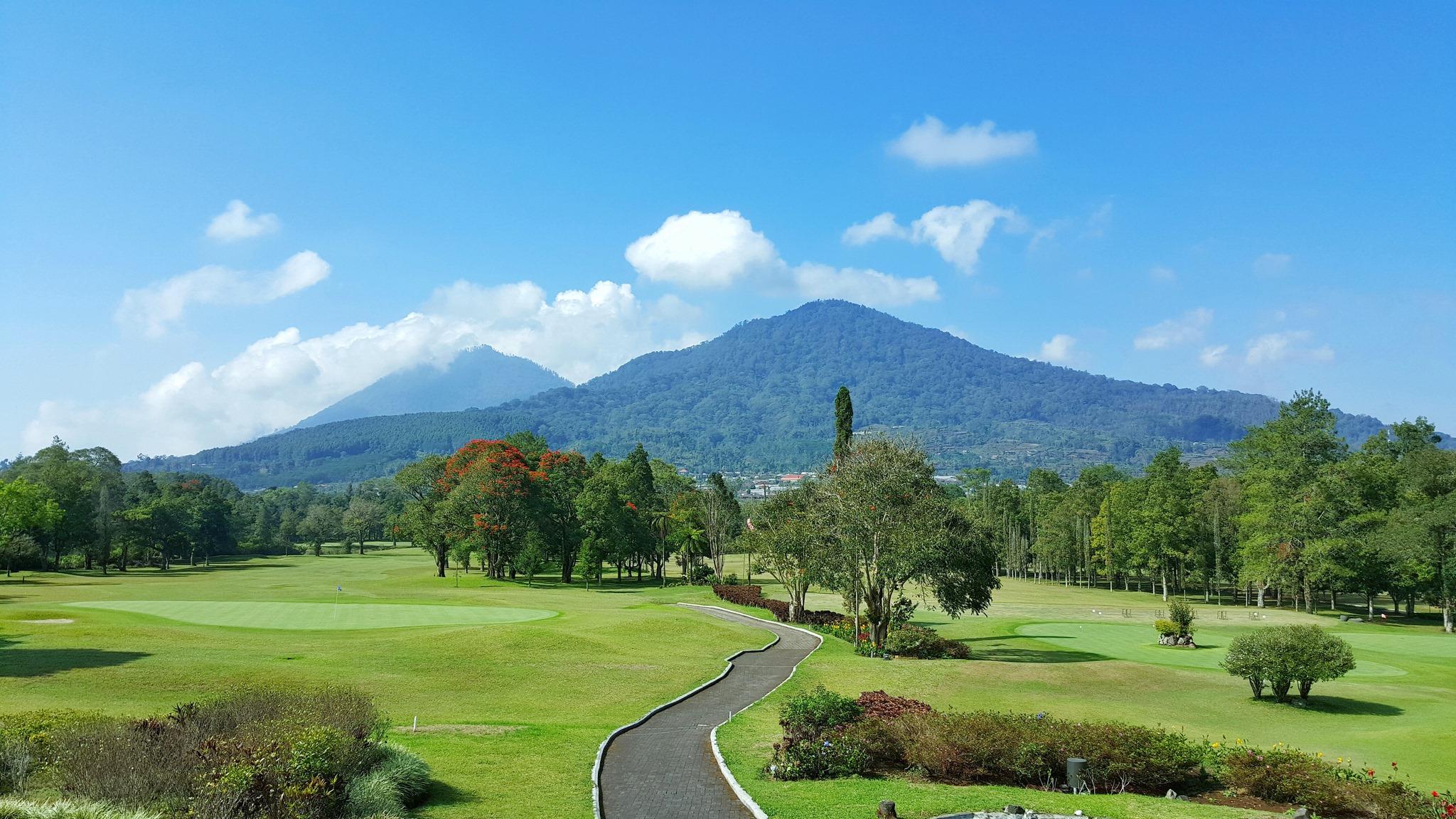ハンダラゴルフ の景色
