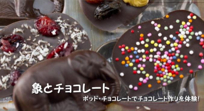 ポッドチョコレート体験バナー