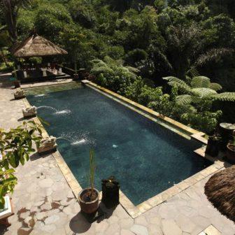 バグースジャティホテルのプール