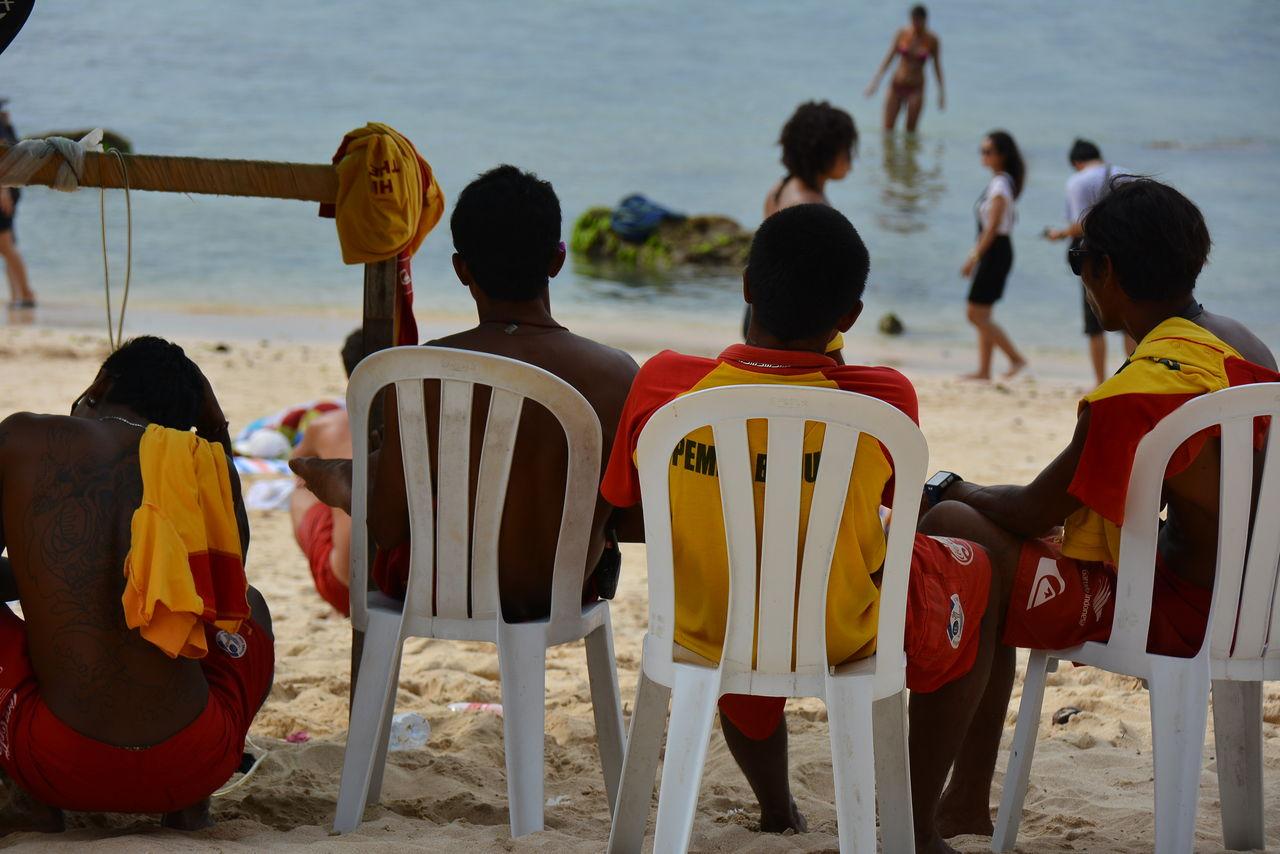 パダンパダンビーチのレスキューチーム