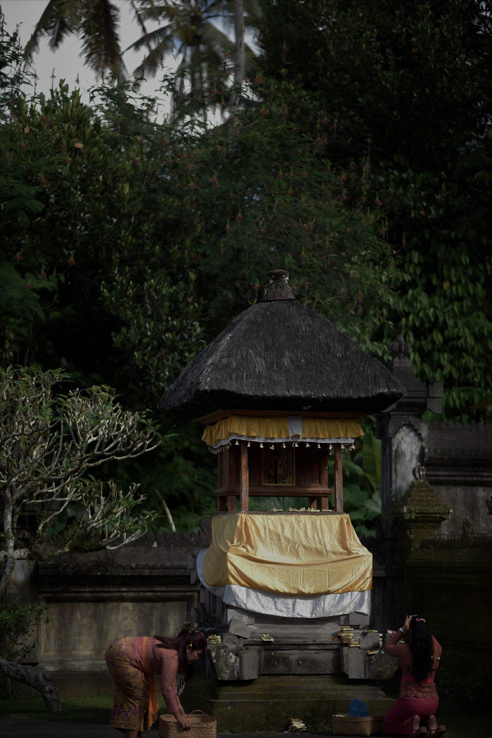ガルンガンのお寺の一部